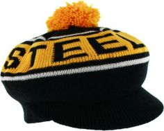 Pittsburgh Steelers Mitchell & Ness Throwback Winter Caddy Knit Hat by Mitchell & Ness. $23.99. Officially licensed. Throwback styling. 100% Acrylic. Woven design. Vibrant team colors. One size fits most. Now you'll never have to choose between a fun, classic look and showing off your Pittsburgh Steelers team spirit again! This officially licensed caddy hat does both with ease! Knit, caddy style hat has the comfort of a beanie, but still has a visor on the front like a ...