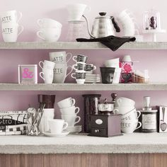 Stockmann More at Home campaign. Pastel kitchen.