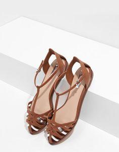 58bd5671bb20 Bershka detail strappy sandals - Woman - Bershka Armenia Armenia