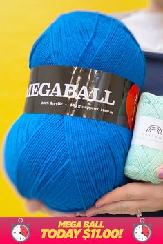 Mega Ball 400 g / oz. from We Love Yarn Stitch Patterns, Knitting Patterns, Yarn For Sale, Knitted Hats, Winter Hats, Weaving, Style Inspiration, Yarns, Fabric