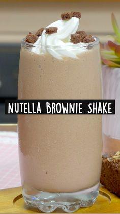 Coffee Drink Recipes, Milkshake Recipes, Milk Shakes, Yummy Drinks, Yummy Food, Cube Recipe, Tastemade Recipes, Creative Food, Diy Food