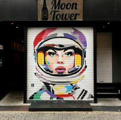 'Space Girl' by DAAS, located in Osaka, Japan