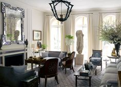 Harry Slatkin's Manhattan Home - Belstaff's Harry Stalkin New York City Apartment - Harper's BAZAAR