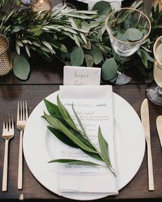 """12 Likes, 1 Comments - Rustic Rose Events (@rustic_rose_events) on Instagram: """"Obsessed with greenery and foliage. Such a beautiful way to bring any table arrangement to life. …"""""""