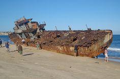 Shipwreck by Hennie Rautenbach, via Flickr