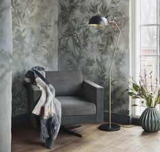 A stylish throw from Danish interior brand Broste Copenhagen. Crafted from a soft wool blend, the 'Vinga' throw combines a warm earthy tone with a House Doctor, Pastel Highlights, Danish Interior, Broste Copenhagen, Room Color Schemes, Living Spaces, Living Room, Swivel Armchair, Knitted Throws