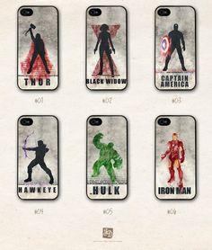 iPhone 5 hard case the Avengers /choose one/ the Hulk , Hawkeye , Captain America , Iron Man , Thor
