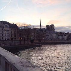 www.littlerugshop.com I love when Paris treats us to a pretty pastel sky  by parisinfourmonths