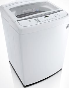 This mega-capacity LG TurboWash top load washer takes on even the toughest wash jobs!