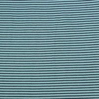 Cotton Sirpes In Navy Tricot