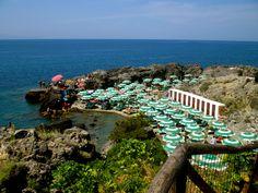 Perfect beach in Talamone, Italy
