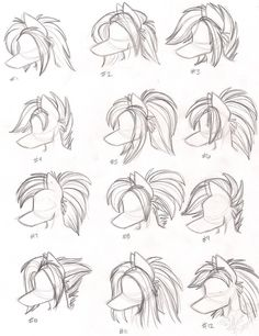 Anthro hairstyles
