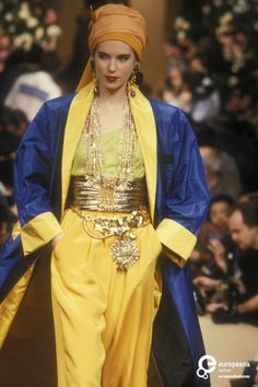 Yves Saint Laurent, Spring-Summer 1990, Couture