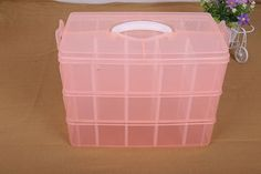 Three removable storage box in a covered storage box king tights toy Lego plastic storage box wholesale