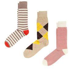 colorful men's socks