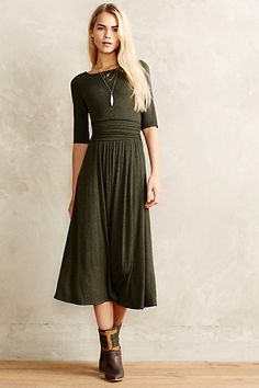Jersey Midi Dress by Bordeaux