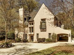 story book stucco cottage by mcalpine tankersley