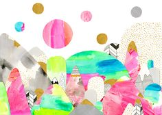 Currently Inspired By Laura Blythman's Colorful Art - The Nectar Collective