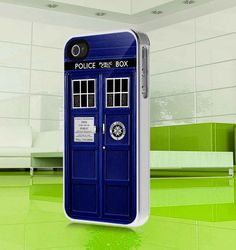 apple iphone case Tardis Doctor Who  Public Call by MuliasCraft, $15.99