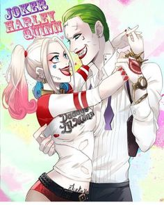 "👑THE QUEEN OF GOTHAM👑RolePlay on Instagram: ""I love it when Am in your arms so romantic @joker.mistah love you"""