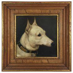 """Alfred Wheeler """"Bull Terrier, Sherborne Queen"""" ~ 1880's"""