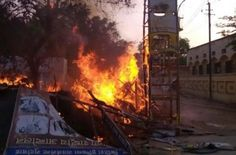A senior police officer was killed and dozens of people, including at least two senior police officials, were injured on Thursday afternoon in exchange of firing between police and encroachers in the Jawahar Bagh locality of this city. Station Officer Farah Santosh Kumar Yadav was killed on the spot as the encroachers — said to be followers of a religious...  Read More