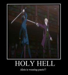 alois wearing pants??!!?!?!?! O.o #black butler/kuroshutsuji. Alois WHAT HAPPENED TO YOUR SHORT SHORTS !!!