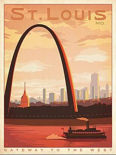 St. Louis, Missouri...I see this view five days a week and I haven't grown tired of it yet!