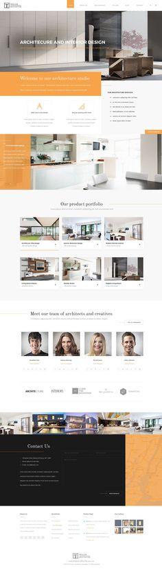 Teclus - Architecture PSD Template  It has purpose oriented design, responsive layout and special features like 3 different #landingpages, blog layouts, galleries, services and pricing tables. Teclus offers the best solution for #architecture and portfolio #websites.
