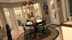 Forever Decorating!: My New Gray Dining Room