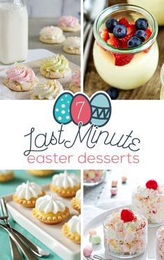 7 Last Minute Easter Desserts | My Baking Addiction