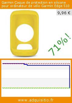Garmin Coque de protection en silicone pour ordinateur de vélo Garmin Edge 510 (Sport). Réduction de 71%! Prix actuel 9,96 €, l'ancien prix était de 34,00 €. http://www.adquisitio.fr/garmin/coque-protection-silicone-2