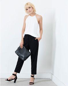 Imagen para Pantalón de Mujer Polliede  Punto Blanco