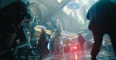 VFX Rules the Cyberpunk Universe of ALTERED CARBON - VFX Voice MagazineVFX Voice Magazine Altered Carbon, Bay City, Out Of Focus, Above The Clouds, San Francisco Bay, Blade Runner, Visual Effects, Alters, The Conjuring