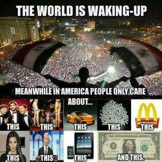 Viva la revolucion. Wake up.