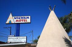 "Route 66 - Wigwam Motel, San Bernardino, California. ""The Fine Art Photography of Frank Romeo."""