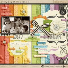 TONS of Digital Scrapbooking stuff here you can get by becoming a member and free stuff when you subscribe the newsletter.... check it out!