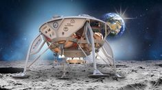 Five finalists will try to land a spacecraft on the Moon this year to win the Google Lunar X Prize - The Verge