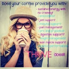 Invest in yourself!!!! People will say yes to a $5 Starbucks coffee everyday, but then say they cannot Afford Thrive which averages out to $5 a day? Hmmm.... Fuel your body with the best of the best!!!! Coffee does not even compare to Thrive! Go sign up for Free and let's get you thriving and feeling the best that you can possibly  feel  #thrivelife #justtryitalready  http://jamieromines.le-vel.com