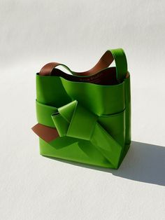 This new Acne bag is sure to sell out, and we're leaning toward this unique green hue.Acne Studios Musubi Shopper Acid Green, $1,800, available at Acne Studios. #refinery29 http://www.refinery29.com/2016/01/101000/best-bag-styles-2016#slide-1