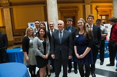 Students Visit the State House 2015