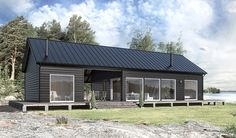 Modern Finnish Barn House