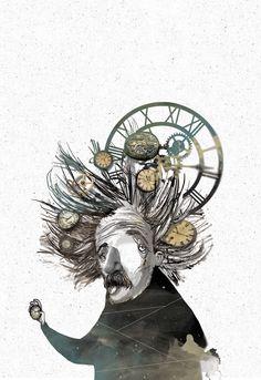 Book cover illustrations  for Aylak Kitap by Sedat Girgin, via Behance