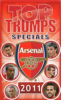2011 Top Trumps Specials Arsenal #NNO Title Card Front