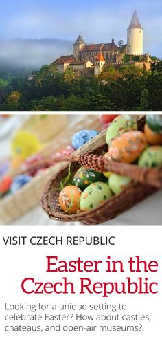 Easter in the Czech Republic: If you're traveling to the Czech Republic this easter, check out these unique settings to celebrate in. Including castles, chateaus, and open-air museums.