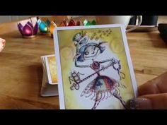 Öppnar paket !  nya tarotkort och tips om tarot! - YouTube