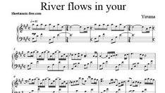 river flows in you cello pdf