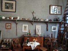 Paul Cézanne's studio. Photo by Sjaak Kempe, via Flickr.