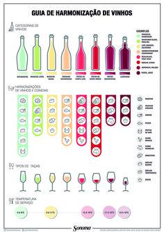 Guia ilustrado: Harmonização de vinhos para não fazer feio