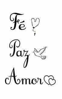 Fé Paz Amor